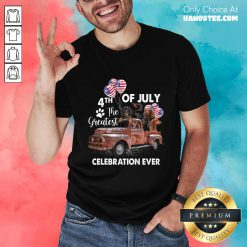 Good 4th Of July The Greatest Celebration Ever Dachshund Shirt