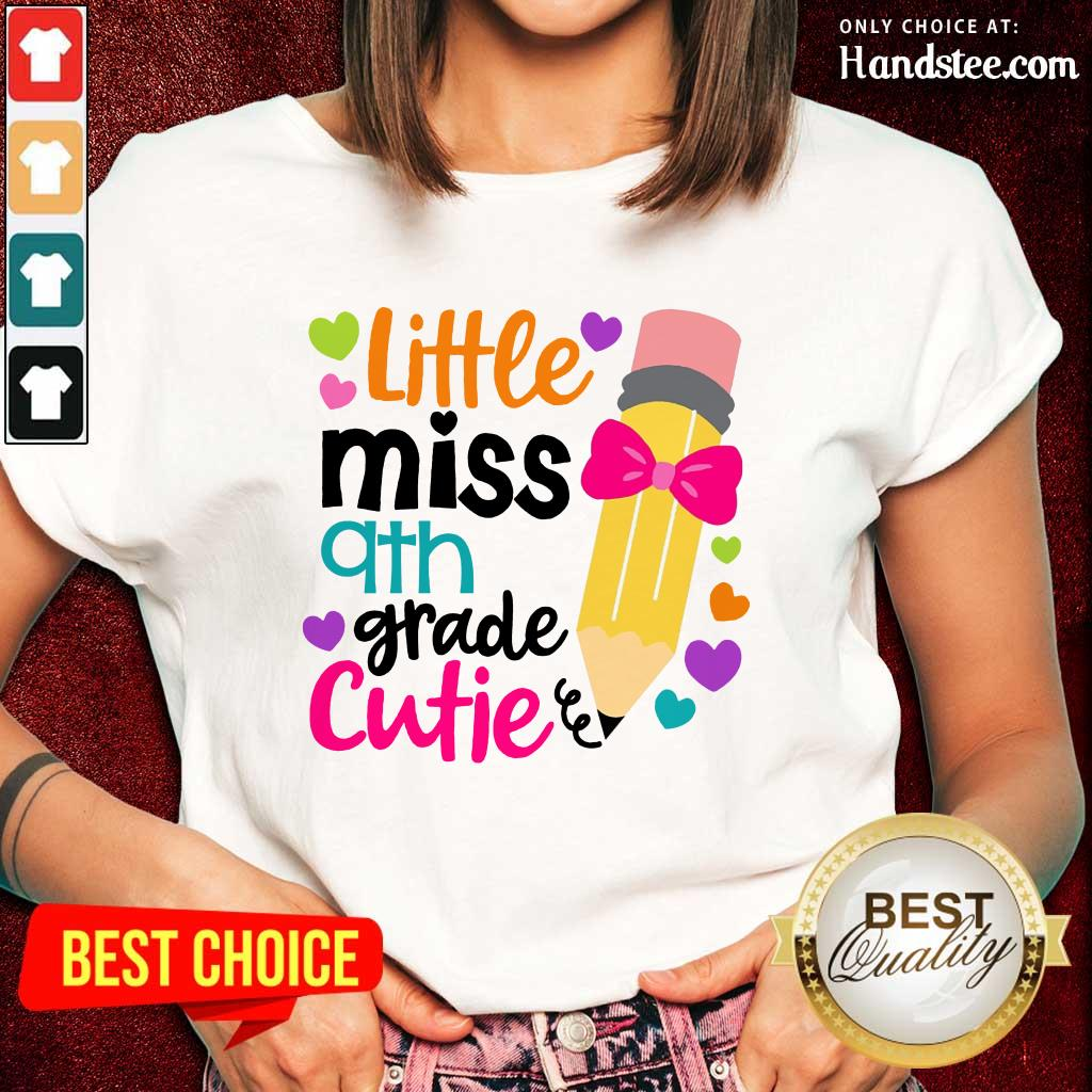 Great Little Miss 9th Grade Cutie Ladies Tee