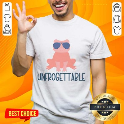 Great Unforgettable Frog Sunglasses Cute Shirt