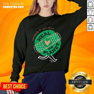 Happy Everybody Do Your Share Heal The Planet Earth Day Sweater