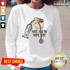 Positive X-Ray Tech Hate Has No Home Here Long-Sleeved