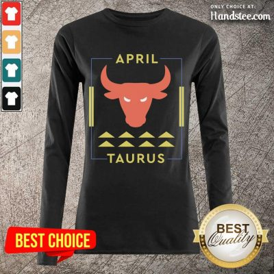 Relaxed April Taurus Long-Sleeved