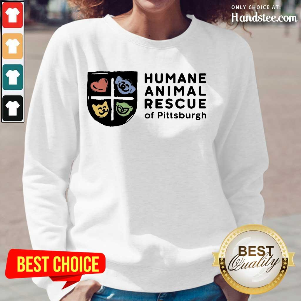 Relaxed Humane Animal Rescue Of Pittsburgh Long-Sleeved