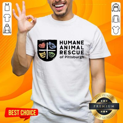 Relaxed Humane Animal Rescue Of Pittsburgh Shirt
