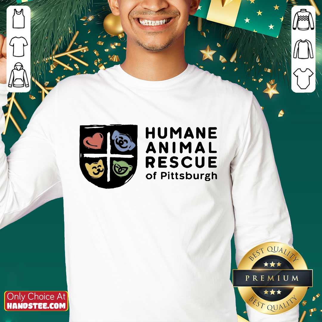 Relaxed Humane Animal Rescue Of Pittsburgh Sweater