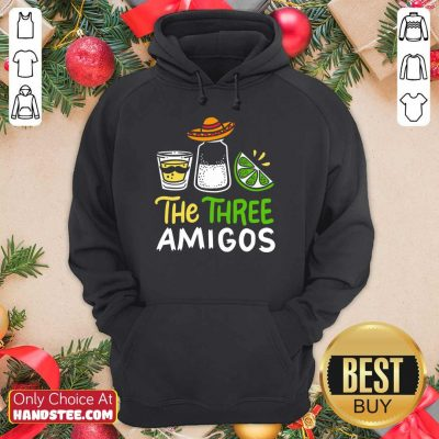 Relaxed The Three Amigos Cinco De Mayo Tequila Alcohol Hoodie