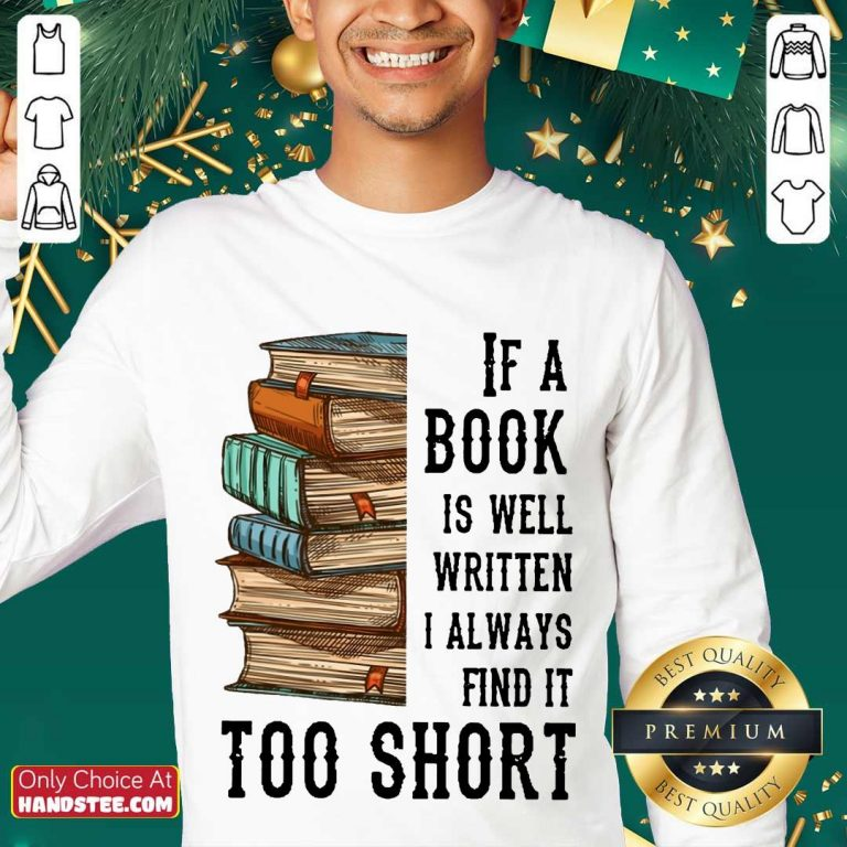 Terrific If A Book Is Well Written A Always Find It Too Short Sweater