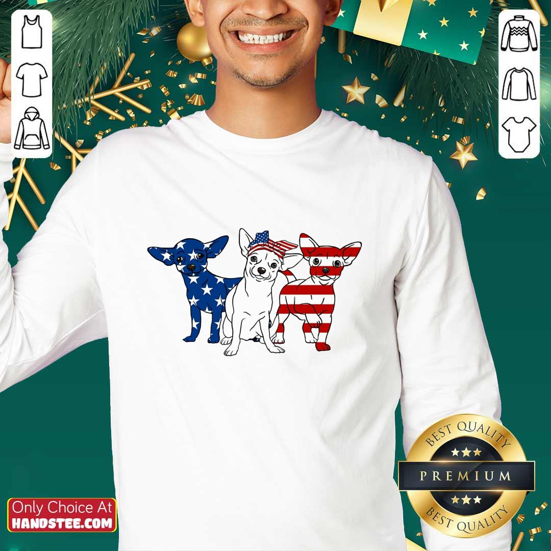 Chihuahua American Independence Day Sweater