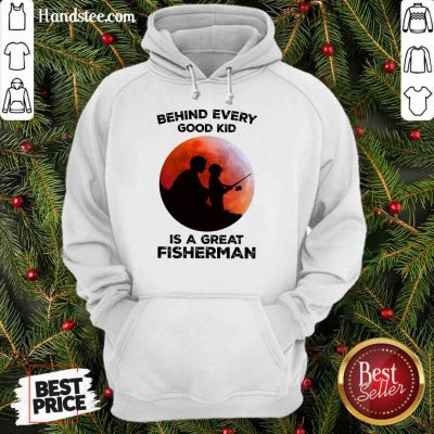 Dad And Son Fishing Is A Great Fisherman Hoodie