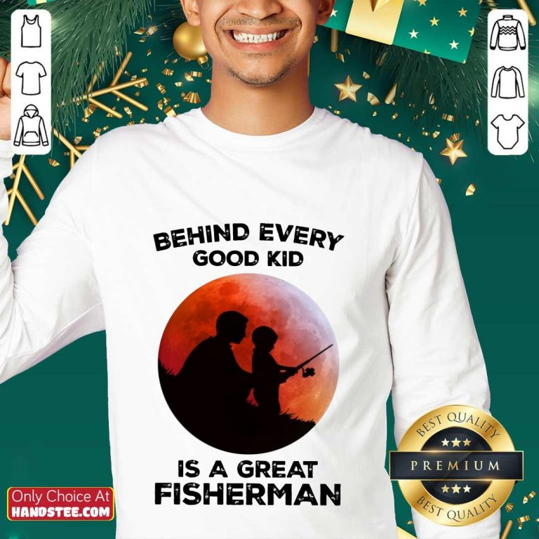 Dad And Son Fishing Is A Great Fisherman Sweater