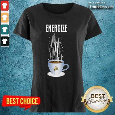 Energize Star Wars Coffee Ladies Tee