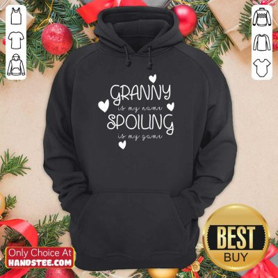 Granny Is My Name Spoiling Hoodie