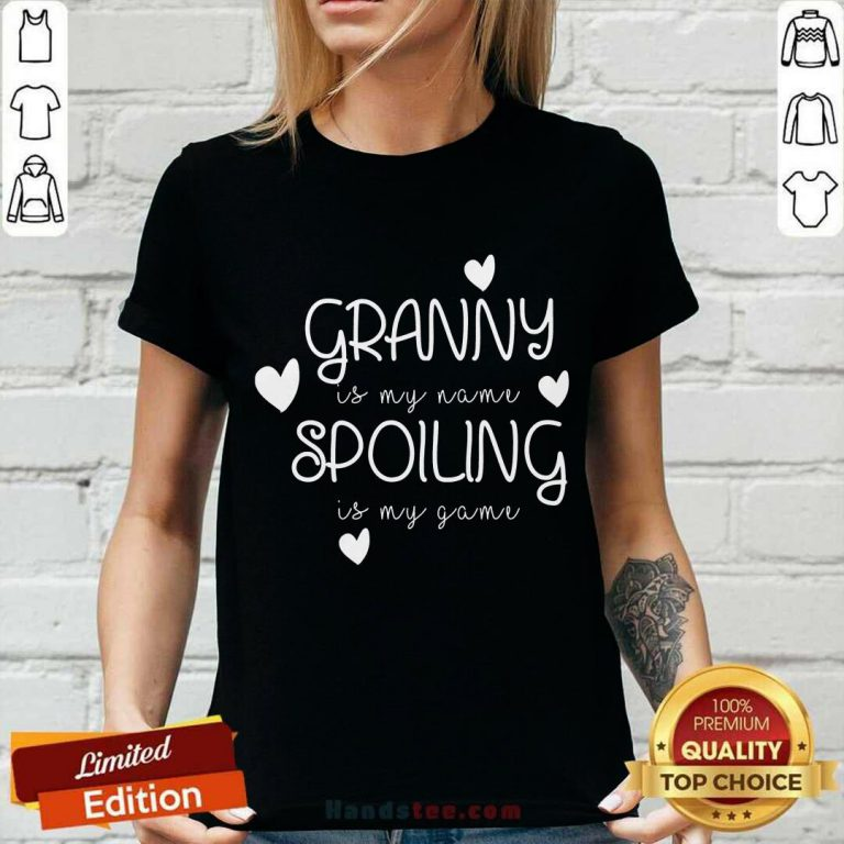 Granny Is My Name Spoiling V-neck