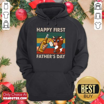 Happy First Father's Day Buffalo Hoodie