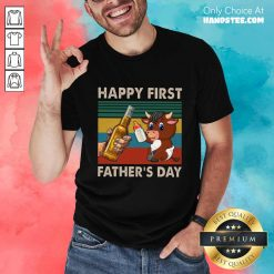 Happy First Father's Day Buffalo Shirt
