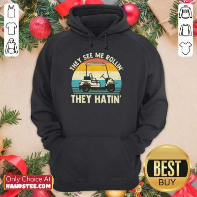 They See Me Rollin They Hatin Vintage Hoodie