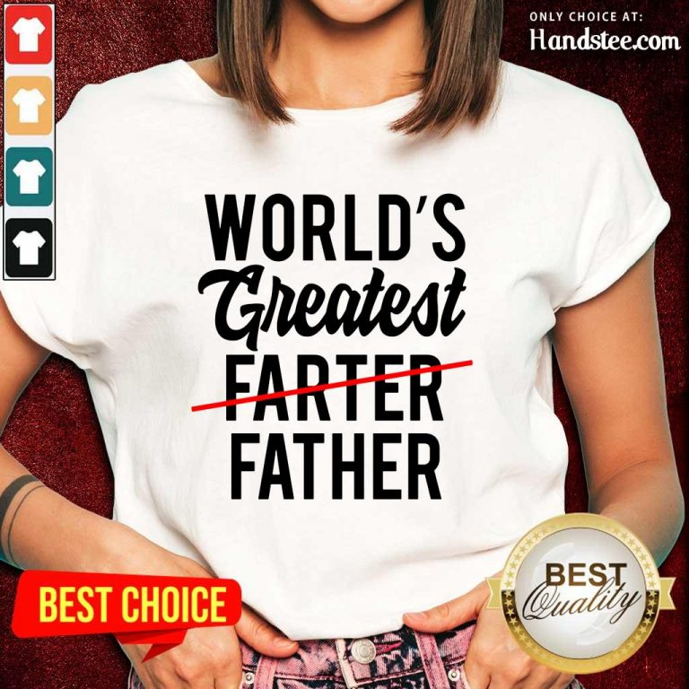 Worlds Greatest Father Ladies Tee