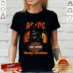 ACDC Harley Davidson V-neck