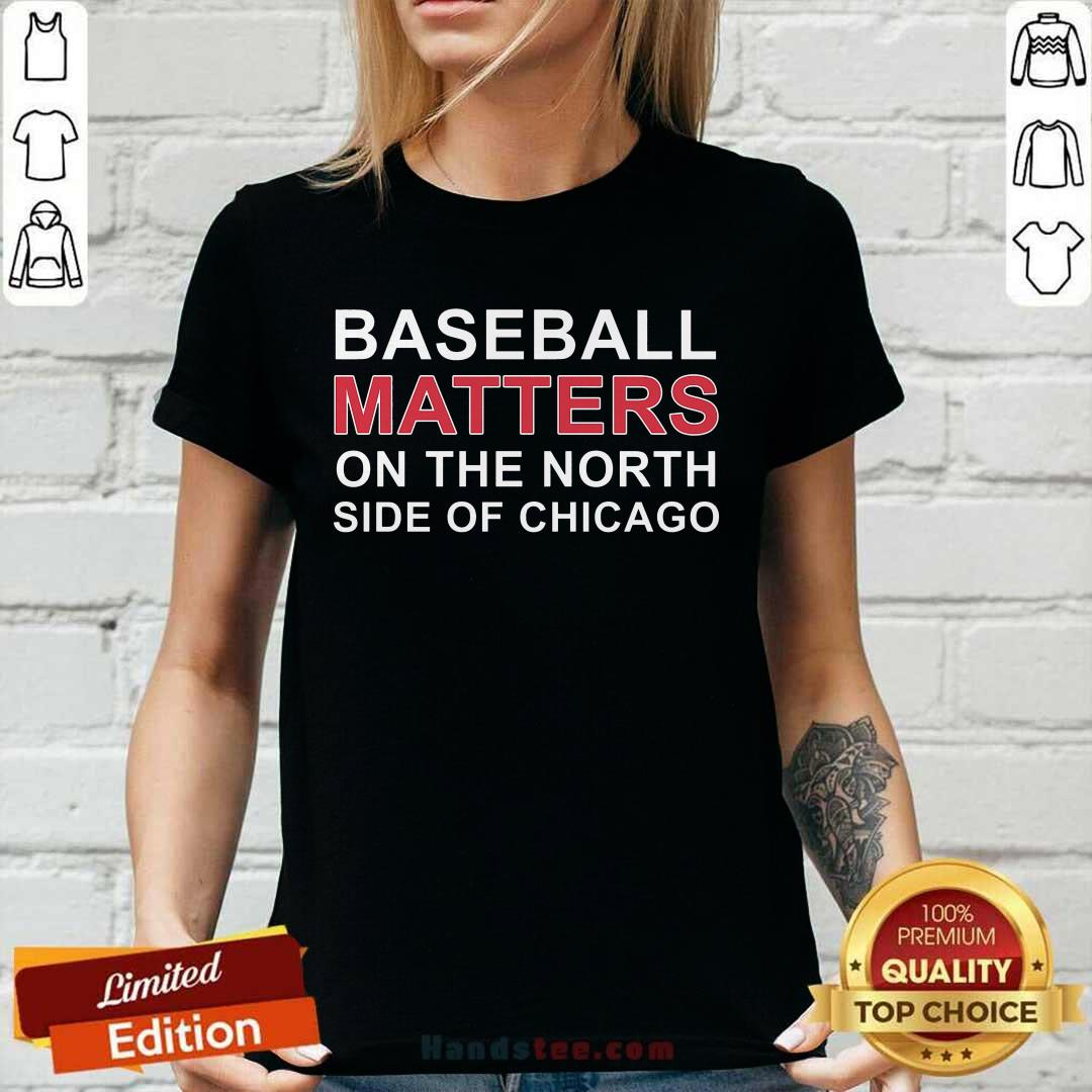 Basketball Matters On The North Side Of Chicago V-neck