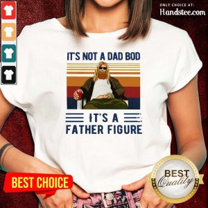 Fat Thor It's Not A Dad Bod Its A Father Figure Vintage Ladies Tee