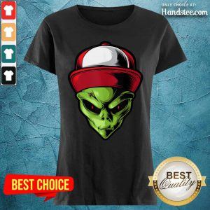 Hot Alien Are You Ready Ladies Tee