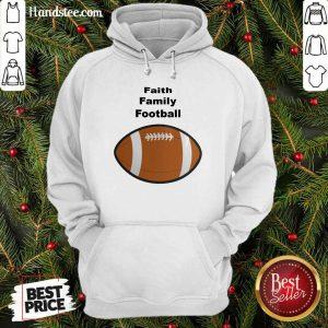 Hot Faith Family Football Hoodie