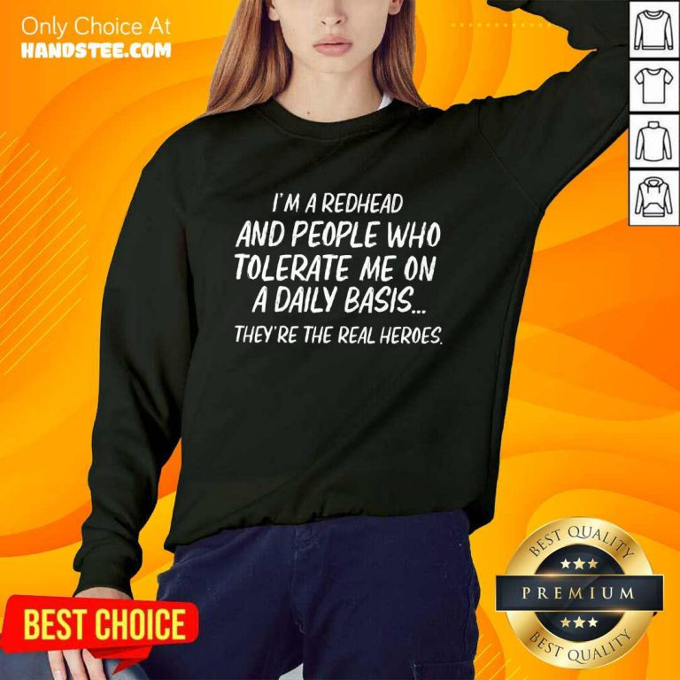 I'm Redhead And Who Tolerate Sweater