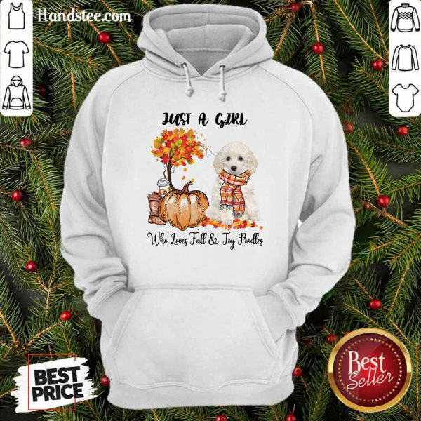 Just A Girl Who Loves Fall And Toy Poodle Hoodie