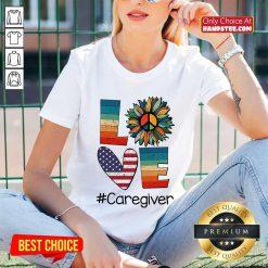 Love Caregiver V-neck