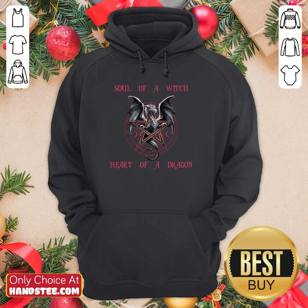 Soul Of A Witch Heart Of A Dragon Hoodie