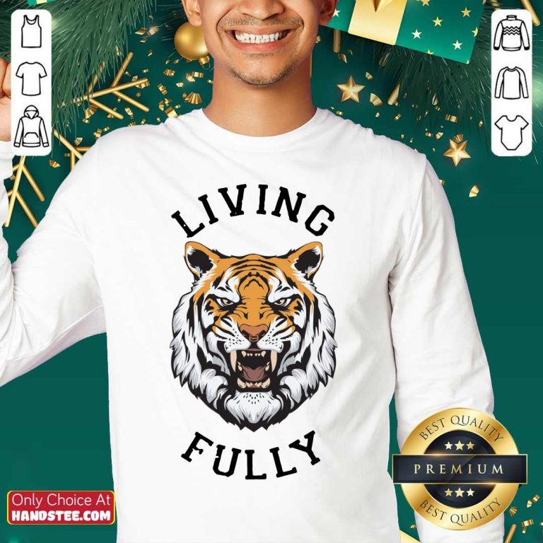 Tiger Living Fully Sweater