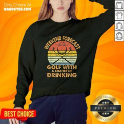 Weekend Forecast Golf With Drinking Sweater